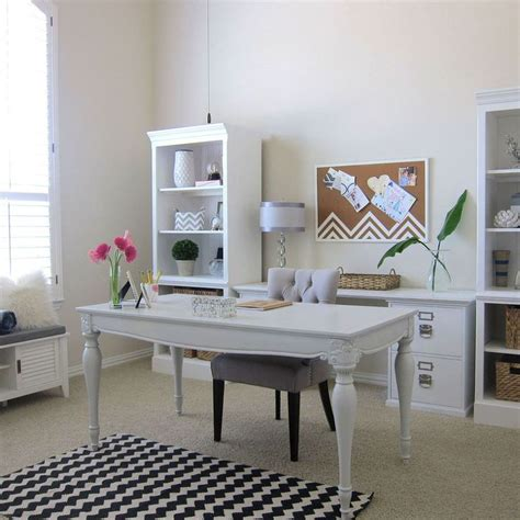 home decor shabby chic 25 shabby chic style home office design ideas decoration