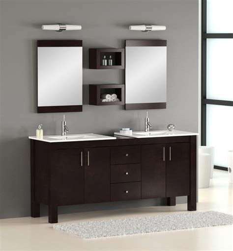 72 Quot Double Bathroom Vanity Modern Bathroom Vanities Modern Vanities For Bathrooms