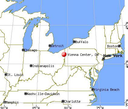 vienna center, ohio (oh 44473) profile: population, maps