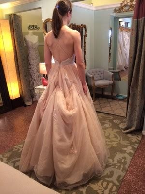Dress Aa bustle on a tulle ballgown weddings and attire