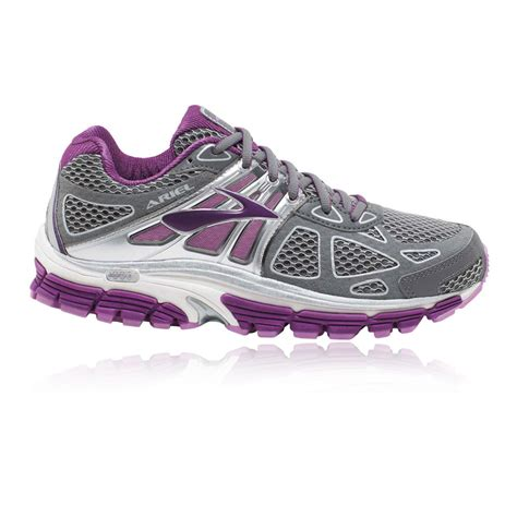 ariel running shoes ariel 14 womens grey purple support running shoes