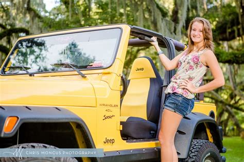 yellow jeep on beach senior pictures with jeep wrangler google search