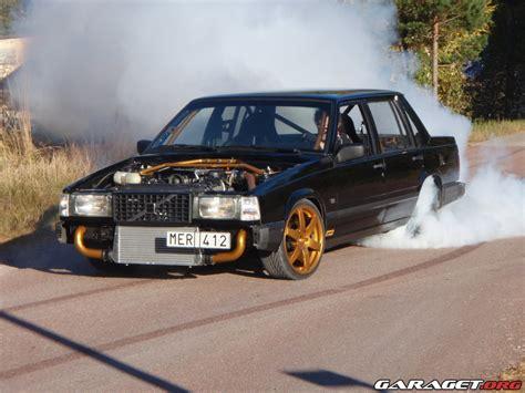 volvo   turbo hoodless racing  garaget
