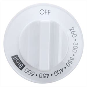 oven temperature knob for whirlpool part 74010132