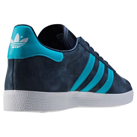 Adidas Gazele Navy adidas gazelle mens trainers in navy blue