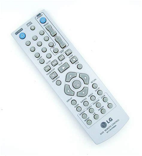 Remote Dvd Player Philips 3 Original 1 original lg remote 6711r1p089a for dvd player