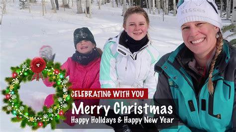 merry christmashappy holidays sledding     pm mst season  ep youtube