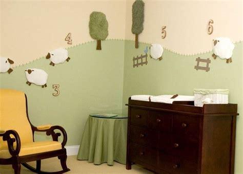 superb Baby Boy Nursery Ideas Modern #4: DIY-Nice-And-Funny-Sheep-To-Decorate-Nursery-Walls-1.jpg