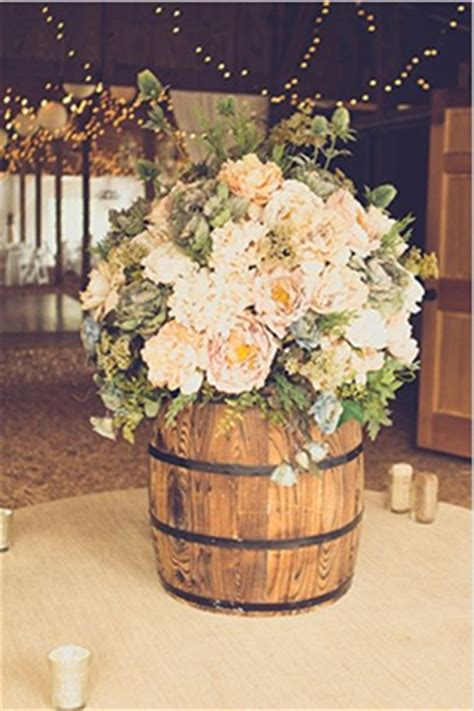 country wedding ideas 20 ways use wine barrels