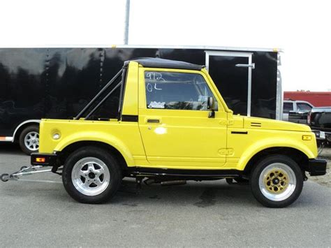 Suzuki Mini Jeep Suzuki Samurai Drag Racer Mini Jeep Samurai