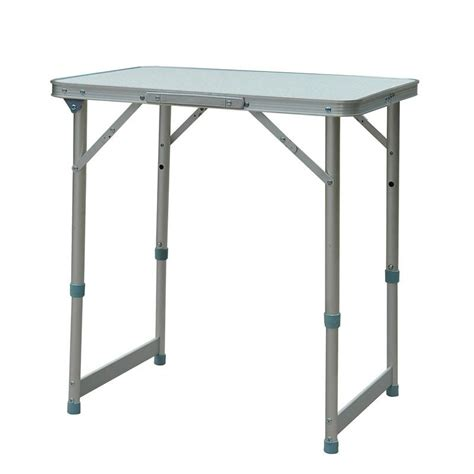 Folding Table With Handle Outsunny Folding Cing Table W Carry Handle