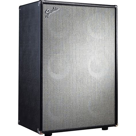 Fender Bassman Speaker Cabinet by Fender Bassman Pro 610 6x10 Neo Bass Speaker Cabinet Black