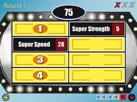 Make Your Own Family Feud Game With These Free Templates Brides Make Your And Buttons Make Your Own Family Feud Powerpoint