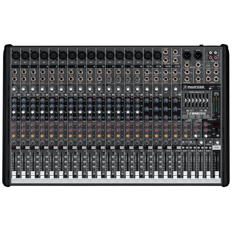 Mixing Desks by Mackie Profx22 Portable Live Mixing Desk Dv247