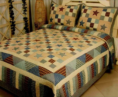 Luxury Quilts Decor 8217b Sk Nostalgia Blue Quilt Luxury