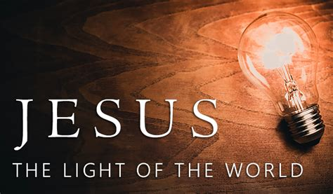 jesus is the light jesus the light of the pictures free clipart