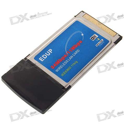 Wifi Card Laptop edup pcmcia 802 11b g wireless wifi card for laptop free shipping dealextreme