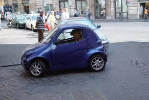 small car really small car rome makes a prius look like a hummer