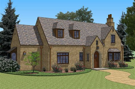 French Country Style House Plans New South Classics Half Penny Cottage