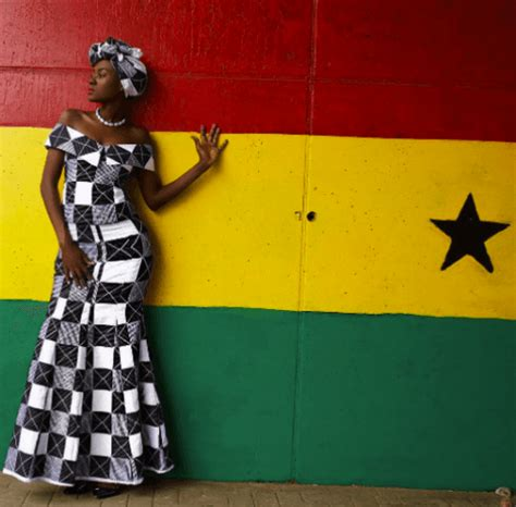 ghanaian women kaba  slit  beautiful kaba outfit ideas
