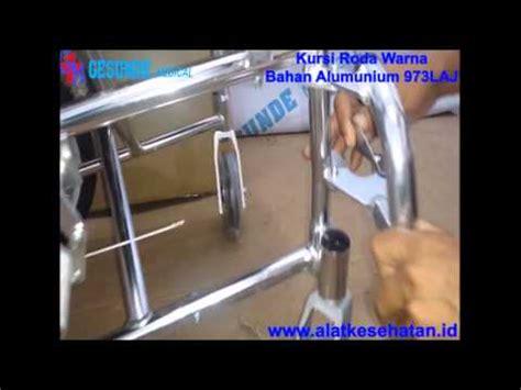Kursi Roda Lengkap kursi roda warna bahan alumunium 973laj www