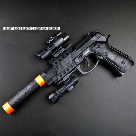 Submachine Electrical Gun 1pcs Electric Gun For Children Boy Electric Pistol