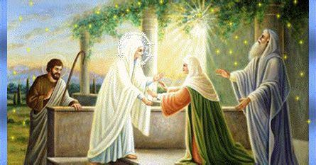 imagen de la virgen maria visitando a su prima isabel gifs y fondos pazenlatormenta im 193 genes de la virgen mar 205 a