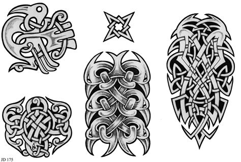 celtic art tattoo designs celtic designs sheet 175 celtic designs