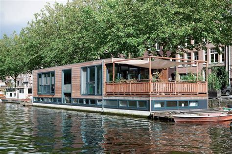 house boat amsterdam modern houseboat living in amsterdam untethered living