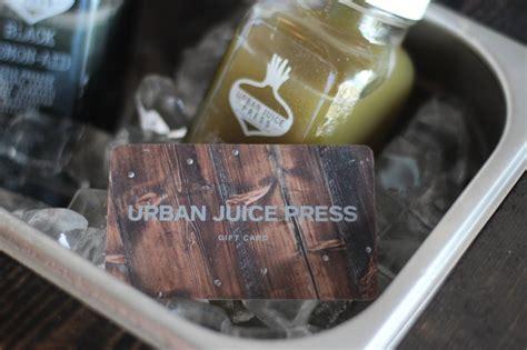 Juice It Up Gift Card - juice cleanse ottawa juicing