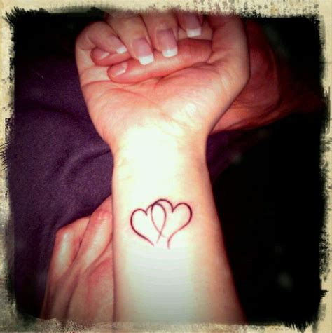 double heart wrist tattoos 25 best ideas about jesus fish tattoos on
