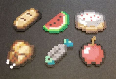 where can you get perler minecraft food items perler fused chicken fish bread