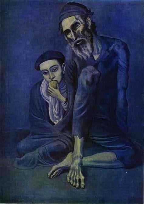 el periodo azul de picasso 1901 1904 el color de la picasso japonismo periodo azul y rosa arte taringa