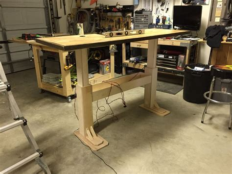 diy height adjustable desk electric height adjustable desk desks houzz and woods