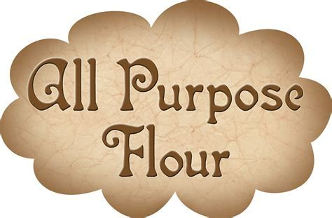 Pantry Label: All Purpose Flour   Rooftop Post Printables