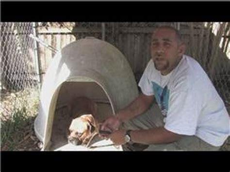 making a homemade dog house heater diy dogloo dog house heater doovi