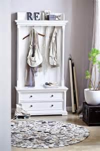 garderobe landhaus garderobe provence halifax mit schubladen weiss shabby