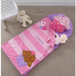 personalized cupcake sleeping bag  nap mat findgiftcom