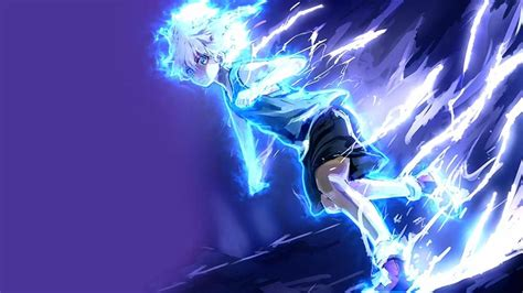 wallpaper engine best anime wallpaper killua electric nen transmutation wallpaper engine free