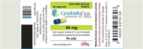 Cymbalta Rapid Detox Side Effects by Lawsuits Charge Eli Lilly With Misleading Consumers About