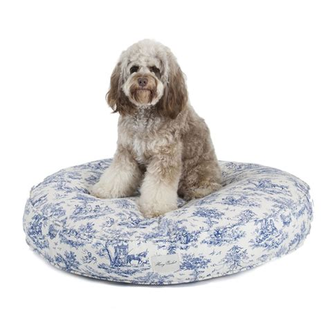 harry barker dog bed harry barker toile canvas round dog bed