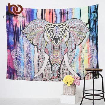 130x150cm Elephant Tapestry Colored Printed Decorative 6 best boho elephant tapestry products on wanelo