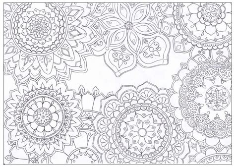 Painting And Decorating Tips mandala flowers coloring page favecrafts com