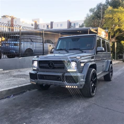 wrapped g wagon rdbla dark grey wrapped g wagon rdb la five star