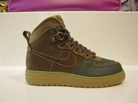 Boot One nike air 1 duck boot fall winter 2011 sole collector