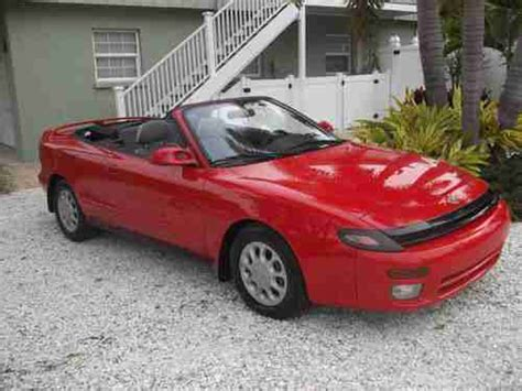 1992 Toyota Celica Convertible Find Used 1992 Toyota Celica Gt Convertible 75 000