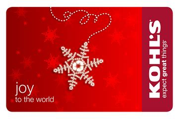 Kohls Free Gift Card - our holiday giveaway a 25 kohl s gift card sweepstakes fanatics