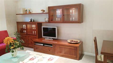 soggiorno legno massello soggiorno classico legno massello tinto ciliegio offerta