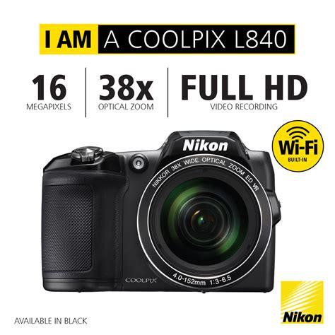 Kamera Nikon L840 Limited nikon news 187 new coolpix range