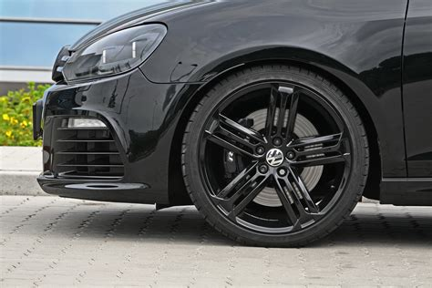 volkswagen golf wheels 530hp volkswagen golf r black pearl by siemoneit racing